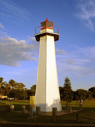 Cleveland, Queensland - The Cleveland Point Light