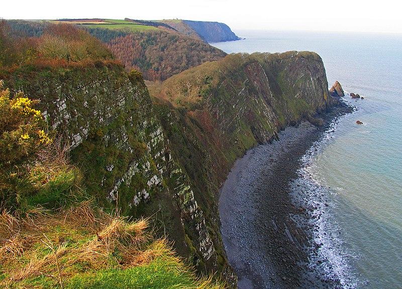 File:Cliffs Clovelly Coast West.JPG