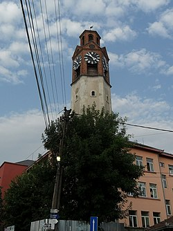 Clock Tower in Pristina.jpg