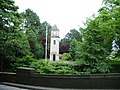 Clock tower in Memorial Grounds - geograph.org.uk - 478267.jpg
