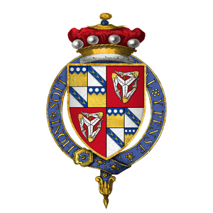 Thomas Stanley, 1st Baron Stanley - Arms of Sir Thomas Stanley, 1st Baron Stanley, KG