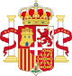 Coat of Arms of Spain (1871-1873) Pillars of Hercules Variant.svg