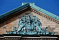 Coat of arms, Scottish Provident, Belfast - geograph.org.uk - 711384.jpg