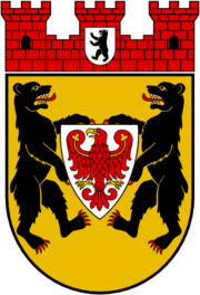 Coat of arms Berlin-Mitte borough (1994)