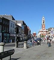Das Stadtzentrum von Colchester (2004)