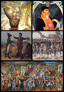 Mexican War of Independence armed conflict which ended the rule of Spain in the territory of New Spain