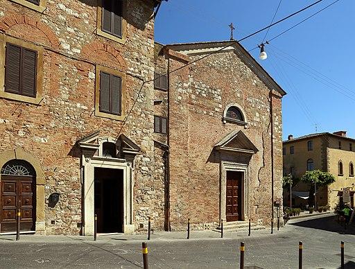 Colle Val d'Elsa, Santa Caterina, esterno