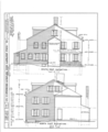 Colonel Joshua Wentworth House, 121 Hanover Street (moved to Hancock Street), Portsmouth, Rockingham County, NH HABS NH,8-PORT,121- (sheet 6 of 25).png
