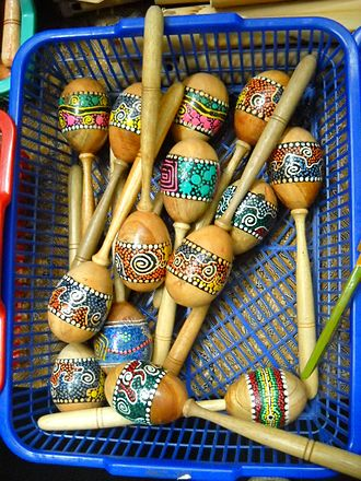 Noise in music - Maracas owe their distinctive tone to the noise in their sound