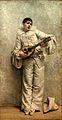 Comerre-Pierrot jouant de la mandoline-Musée de Gap.jpg