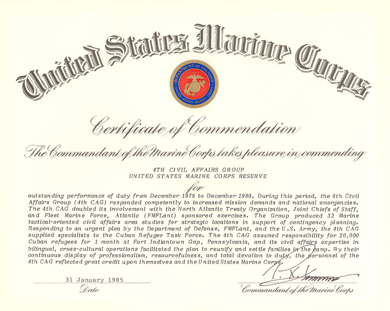 Officer Promotion Certificate Template Mandegarfo