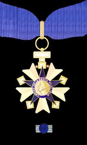 Ordre de la Santé publique - Image: Commandeur in de Orde van Publieke Gezondheid