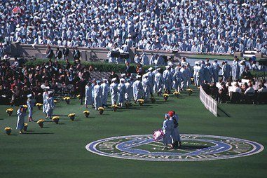 Commencement Ceremony at Kenan Memorial Stadium