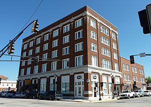 National Register of Historic Places listings in Ottawa County, Oklahoma - Image: Commerce Building Hancock Building