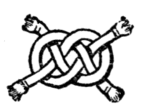 Carrick bend - Wake or Ormonde knot of heraldry