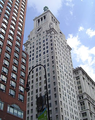 Consolidated Edison Building - Image: Con Ed Building Tower from 14th Street