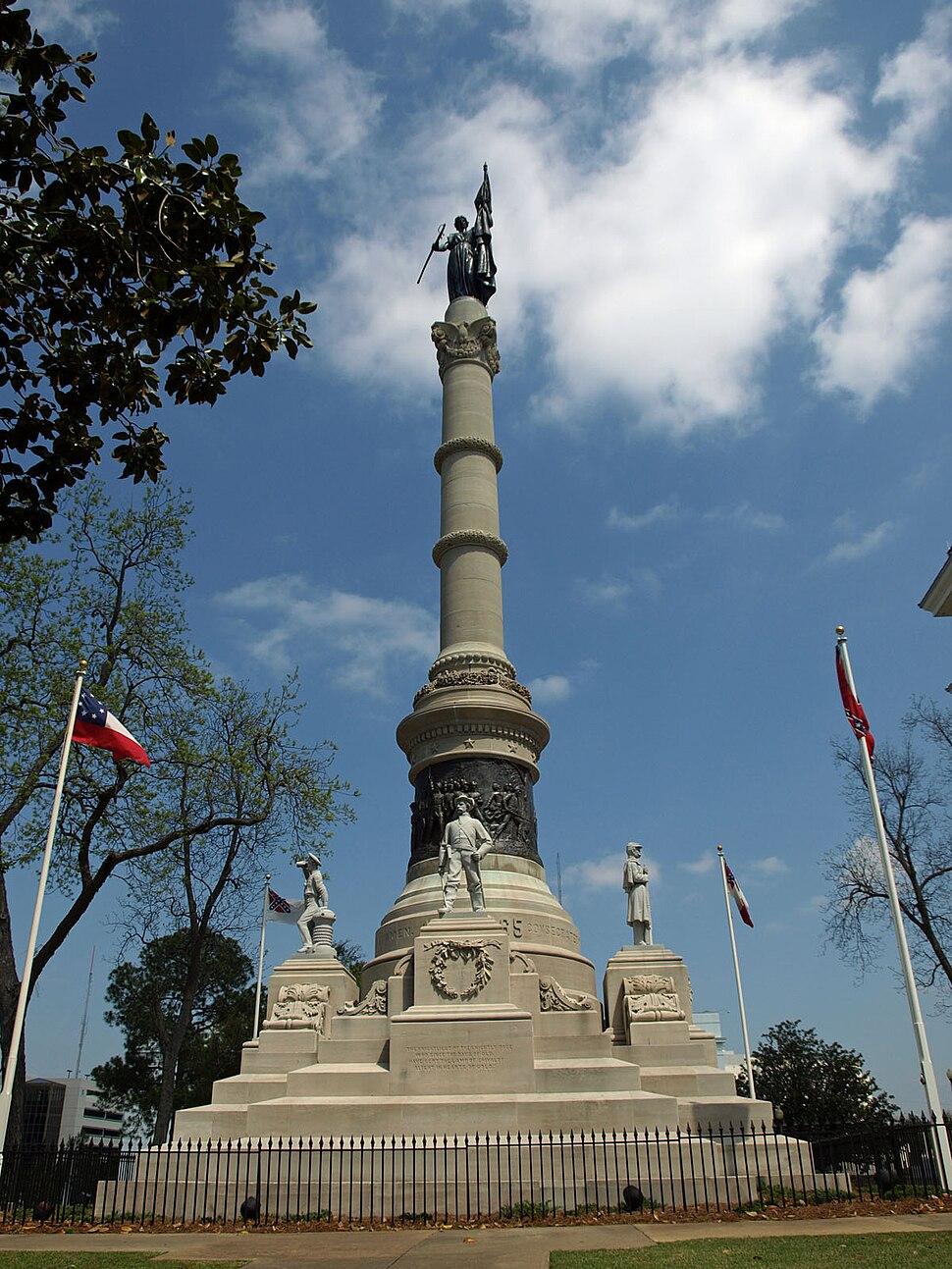 Confederate Memorial at Alabama State Capitol Apr2009