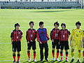 Consadole Sapporo Youth U-15, after the game, 20091227-04.jpg