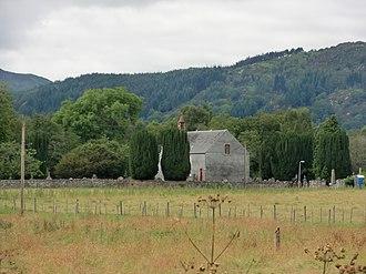 Contin Island - Image: Contin Church