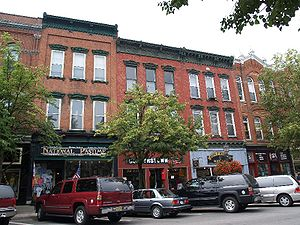 Cooperstown, New York - Main Street, part of the Cooperstown Historic District