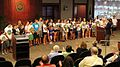 Coosaw Creek swim team honored at City Counil (7655817478).jpg