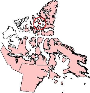 Cornwall Island (Nunavut) - Image: Cornwallisland