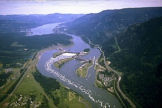 River in the Pacific Northwest of the United States