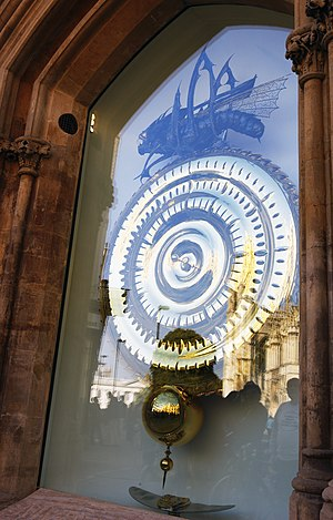 The Corpus Clock at Corpus Christi College, Cambridge