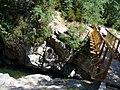 Corsica - Cascade des Anglais - Huba on the bridge - panoramio.jpg