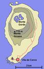 Portugalia - Azory, Corvo, Vila do Corvo, Panorama