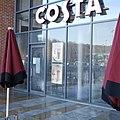 Costa Coffee, Kirkstall Bridge, closed by floods (geograph 4777859).jpg