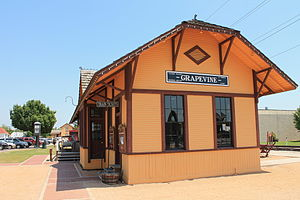 Cotton Belt Railroad Industrial Historic District - Image: Cotton Belt Railroad Industrial Historic District 1