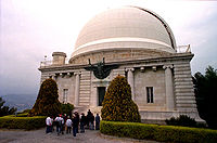 View of the Bischoffsheim cupola, main cupola of Nice Observatory