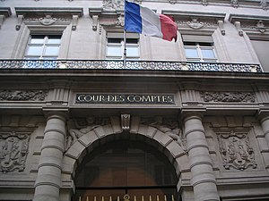 Water supply and sanitation in France - The Cour des Comptes in Paris monitors water and sewer tariffs and utility expenditures