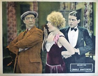 <i>Cradle Snatchers</i> 1927 film by Howard Hawks