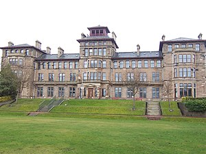 Regeneration (novel) - Craiglockhart War Hospital, now a part of Edinburgh Napier University