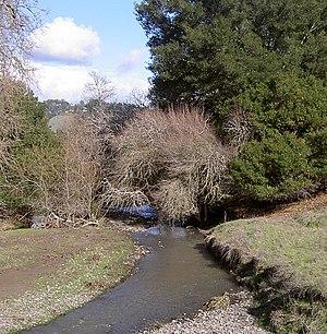 Crane Creek (California) - Crane Creek east of Rohnert Park