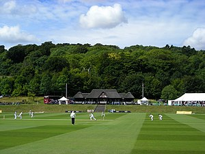 Middle England - Typically English activities such as County Cricket matches popularly evoke an image of Middle England