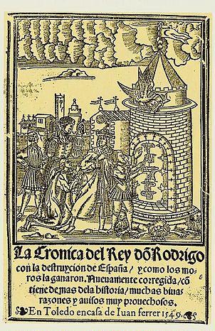 XIII siglos de la  Batalla de Guadalete (España)