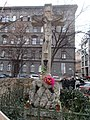 Crucifix (1852), Jokai square, 2016 Terezvaros.jpg