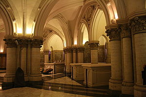 Royal Crypt (Belgium) - Leopold III, Astrid of Sweden and Mary Lilian Baels