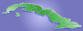 Guantánamo is located in Cuba