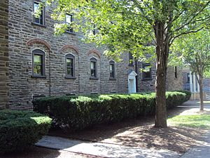 Ursinus College - Curtis Hall, where J.D. Salinger lived on the third floor during his time at Ursinus