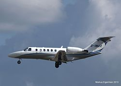 Cessna Citation CJ2 der Sylt Air