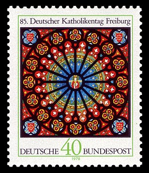 Katholikentag - Deutscher Katholikentag in 1978, German stamp