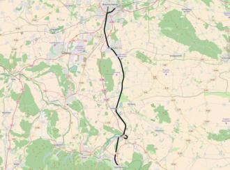 Brunswick–Bad Harzburg railway - Image: DB 1901 railway map