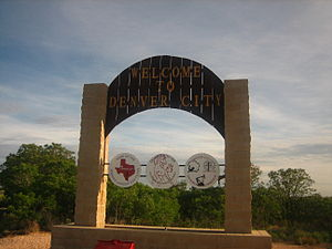 Denver City, Texas - Image: DC sign IMG 0380