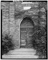 DETAIL, FRONT DOOR - Wesley Methodist Church, 201 North Fifth Street, Watertown, Jefferson County, WI HABS WIS,28-WATO,2-5.tif