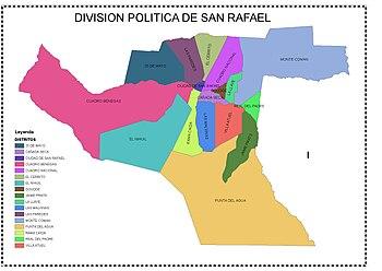 DIVISION POLITICA DE SAN RAFAEL