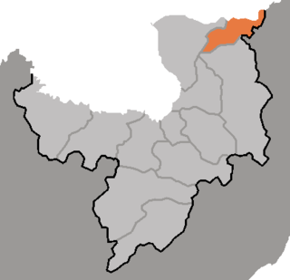Taehongdan County County in Ryanggang, North Korea